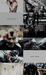 Resident Evil Moviverse | Wesker/Claire Aesthetics