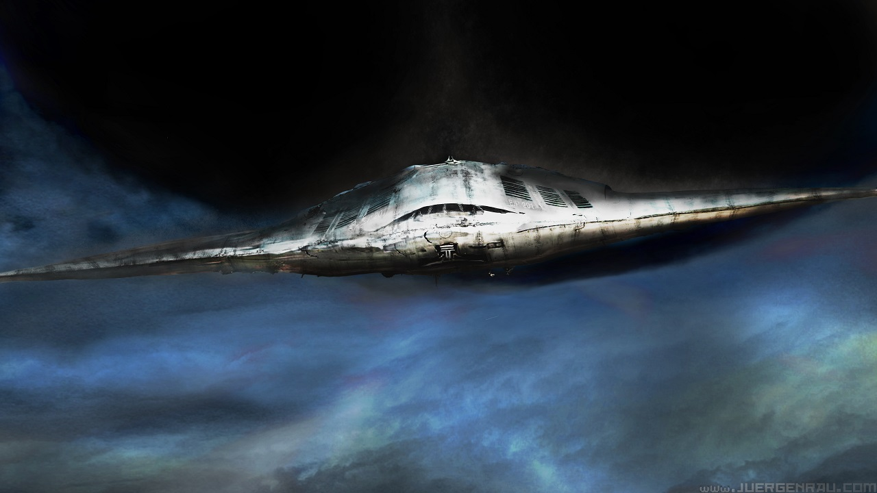 00362015111701 stealth spaceship ufo by