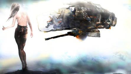 0039.2015.12.02.01. Sci Fi Spaceship Girl.