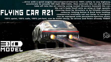 0111.2019.03.29.01. Flying car 21. Concept idea.
