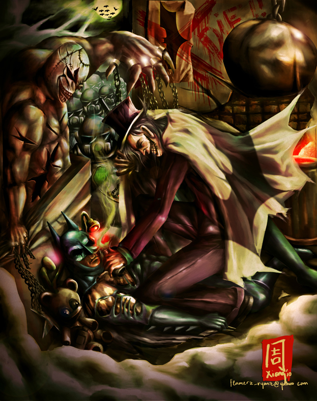 IT'S TIME TO REST BATMAN by VCLCLOWN