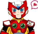 Zero is blushing!