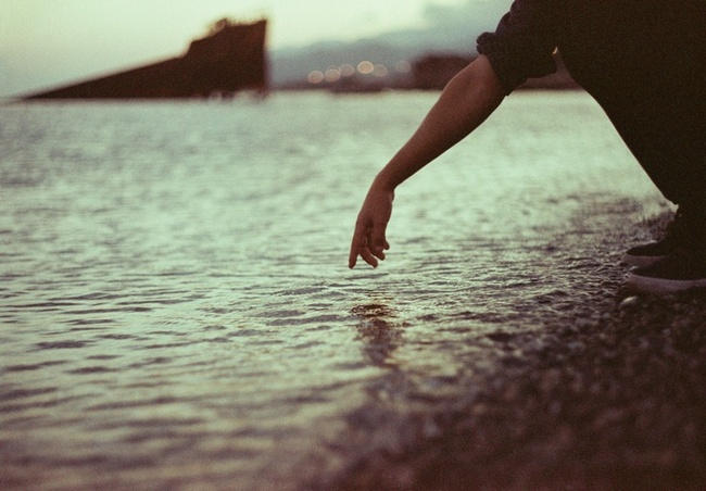 We'll sink into the sea