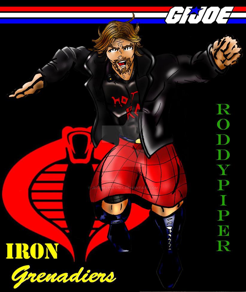Iron Grenadier Roddy Piper by JezabelPheonix