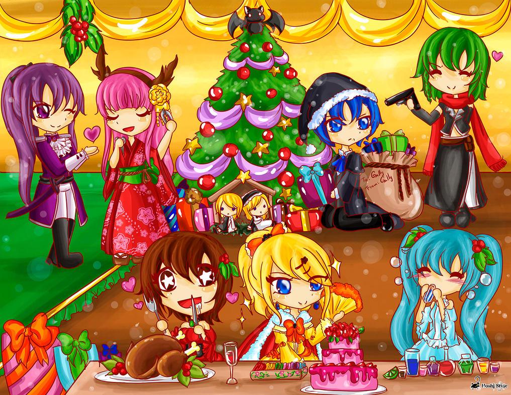 Christmas 2015 by Hoshi-Wolfgang-Hime