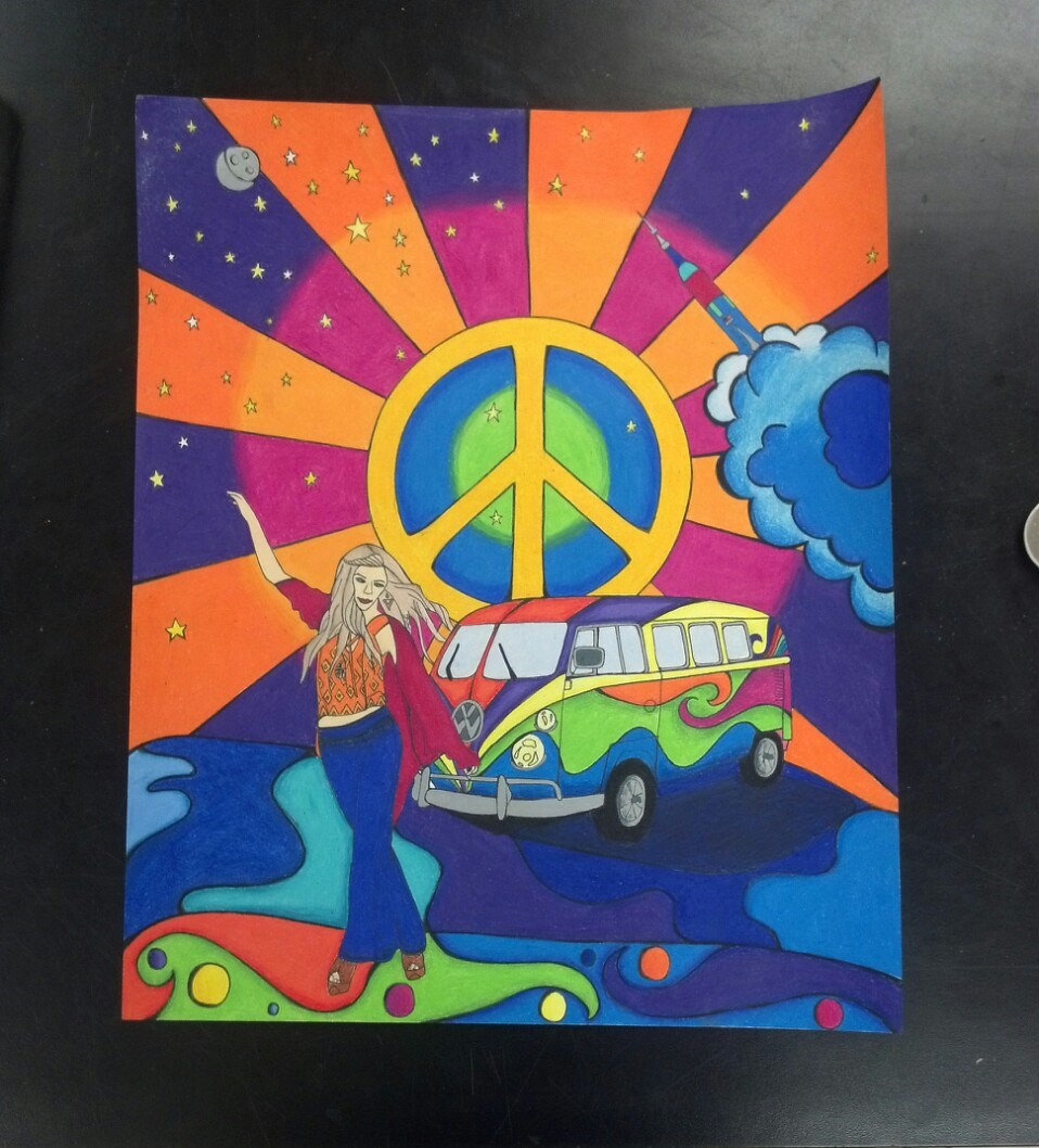 Peter Max By GiNg3r295 On DeviantArt