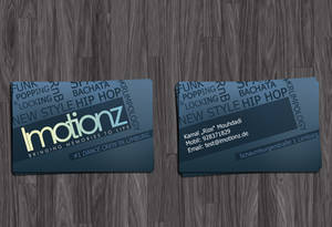 Imotionz Businesscard