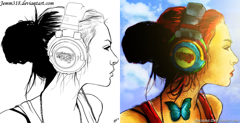 Headphone Pintura Digital Headphone_pintura_digital_by_jeesama-d6ybtig