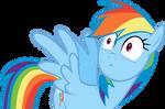 Rainbow Dash - Scared 1