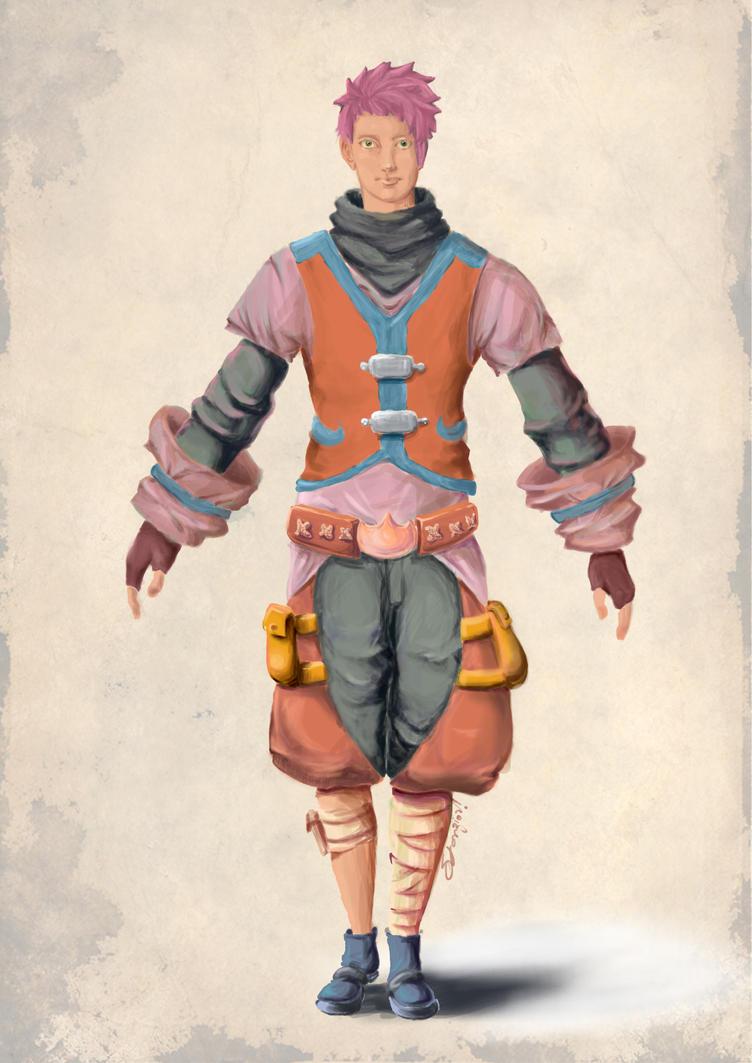 Character Design by Stanzioni