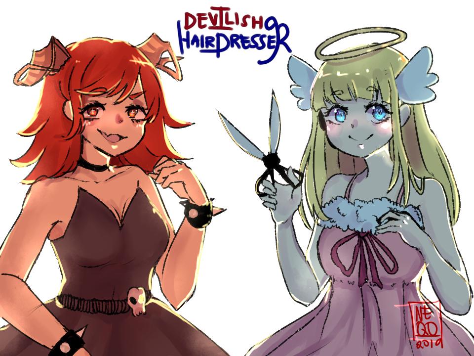 Childhood Devilish Hairdresser By