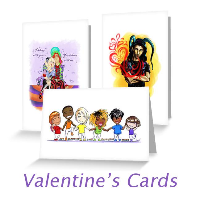Valentine's Cards 2017 by ArtbyMaryC