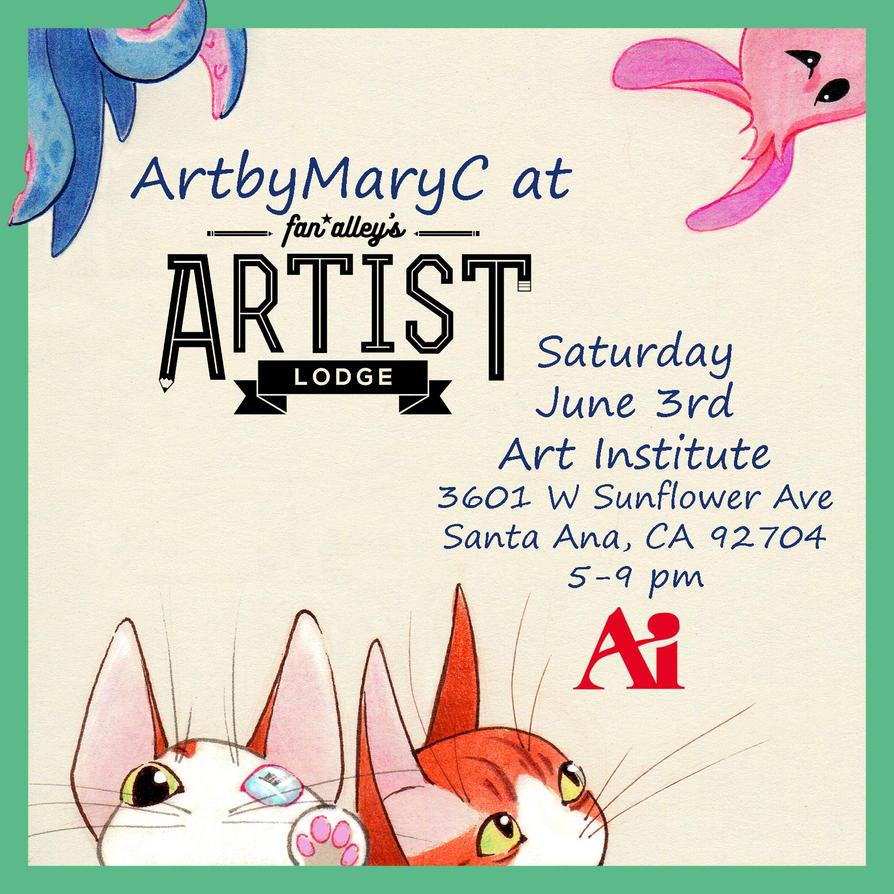 The Artist Lodge June 3rd 2017 by ArtbyMaryC