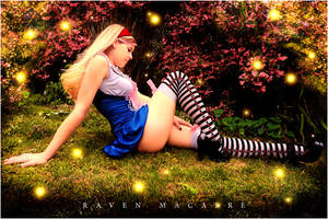 Hayley as Alice I by RavenMacabre