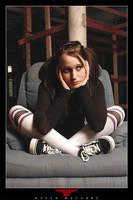 Sad girl by RavenMacabre