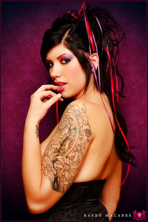 Maureen - Inked Beauty by RavenMacabre