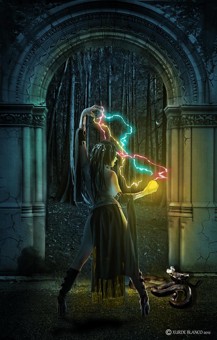 witch by Xurdeblanco