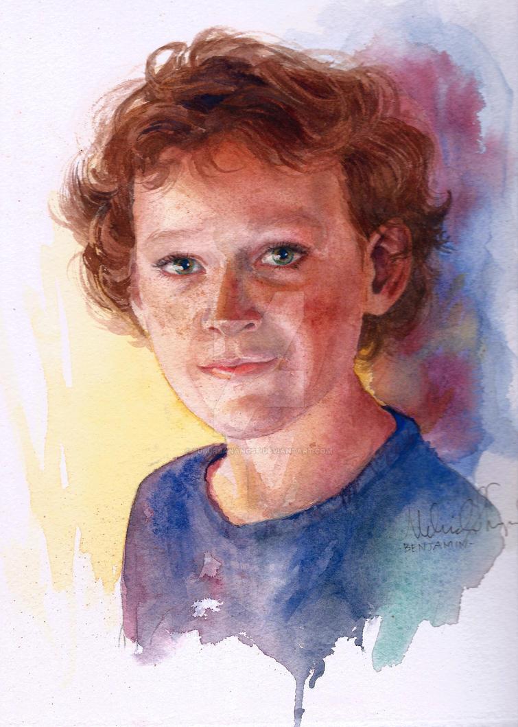 Freckled Boy by SuburbanAngst