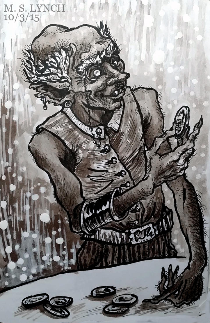 Drawlloween Goblin by SuburbanAngst