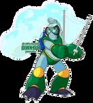DWN11 Bubbleman