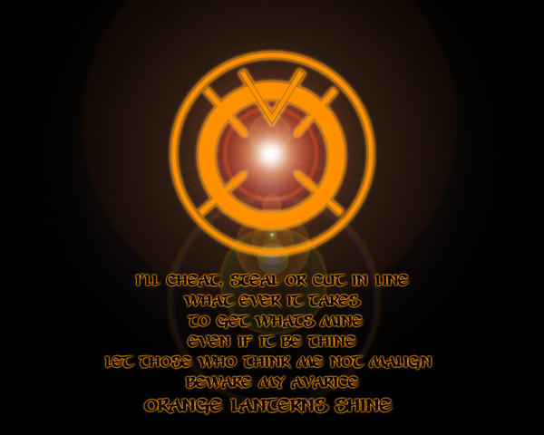 yellow lantern oath - HD 1280×1024