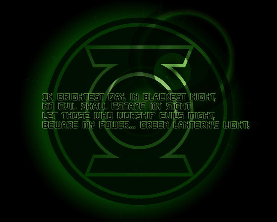 green lantern oath wallpaper - photo #14