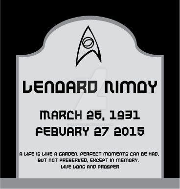 RIP Leonard Nimoy by Gray-Vizard