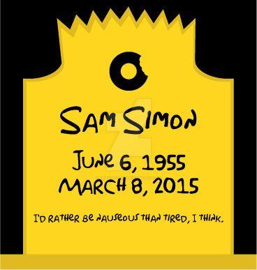 RIP Sam Simon by Gray-Vizard