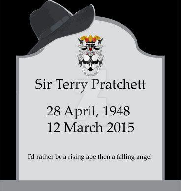 RIP Terry Pratchett by Gray-Vizard