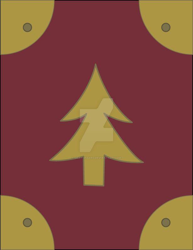 Gravity Falls journals: Pine tree by Gray-Vizard