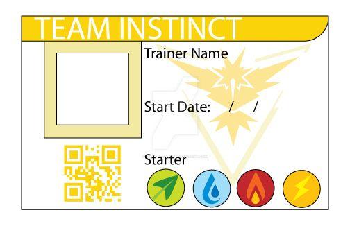 Team Instinct ID Card by Gray-Vizard
