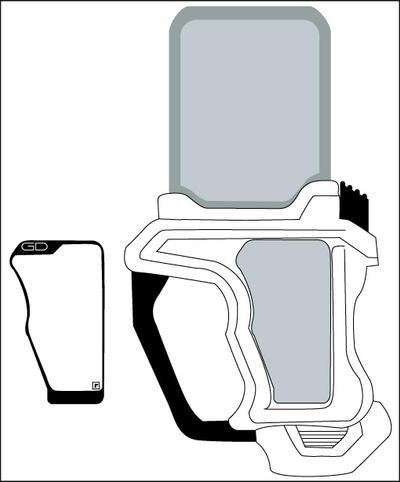 Kamen rider EX-Aid Gashat template by Gray-Vizard