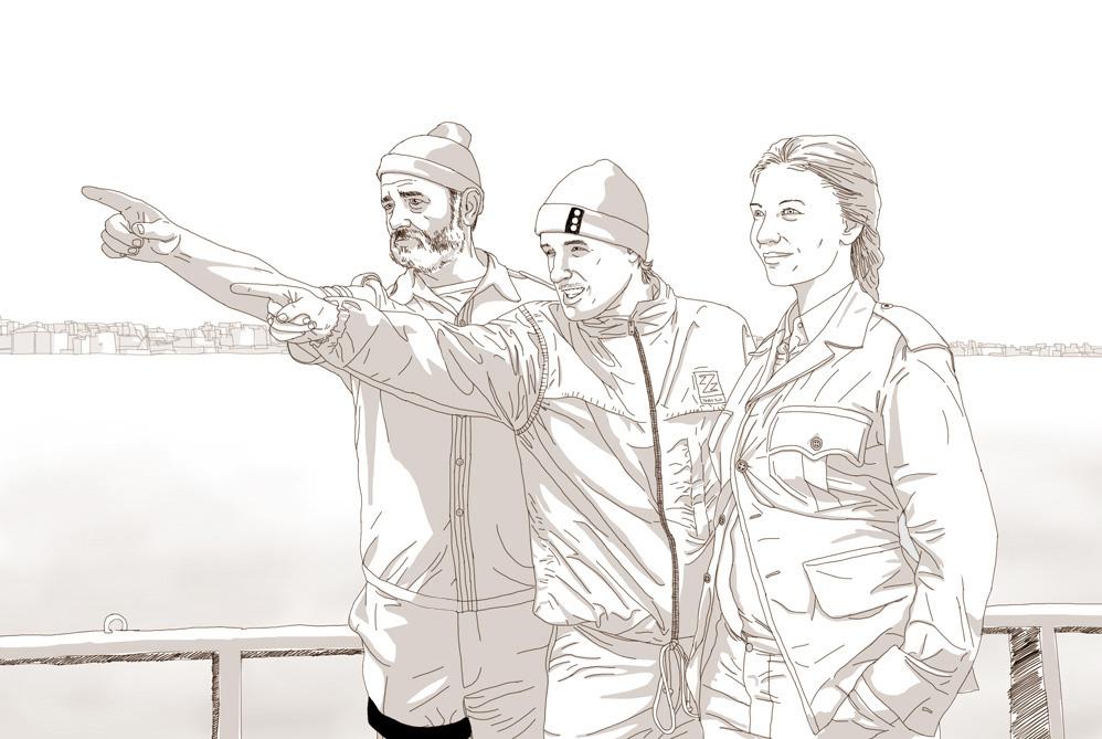Zissou -sketch request- by Cosmic-Rocket-Man