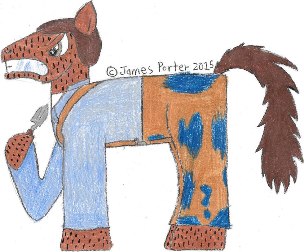 TCITW Judah Buckner, Ponified. by Rock-Raider