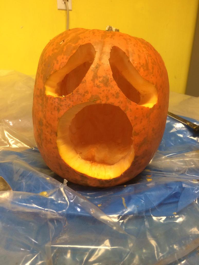 Halloween Jack-O-Lantern version 1. by Rock-Raider