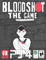 Bloodshot The Game Box Art.