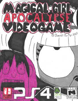 Magical Girl Apocalypse Videogame Box Art.