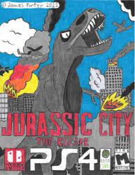 Jurassic City The Escape box art.