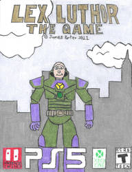 Lex Luthor The Game boxart.
