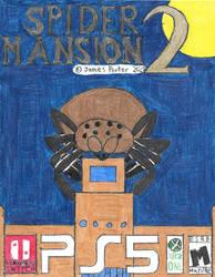 Spider Mansion 2 video game box art.