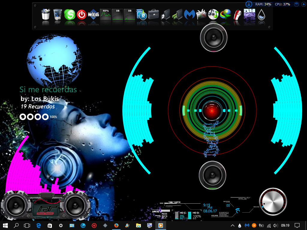 Skins rainmeter 2017 by chukitmorris on deviantart for Deviantart rainmeter