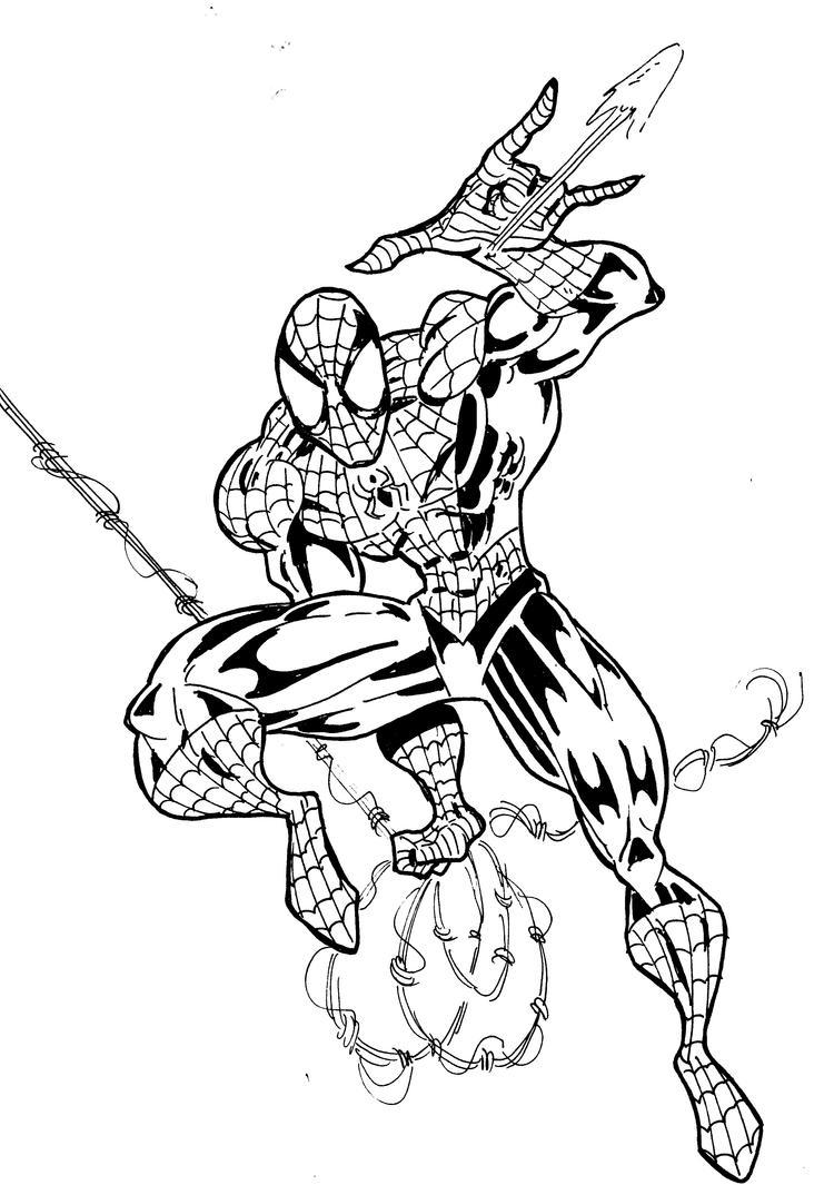 90 Einzigartig Ausmalbild Iron Man Fotos: SPIDER-MAN Comic Con Sketch By Manthomex On DeviantArt