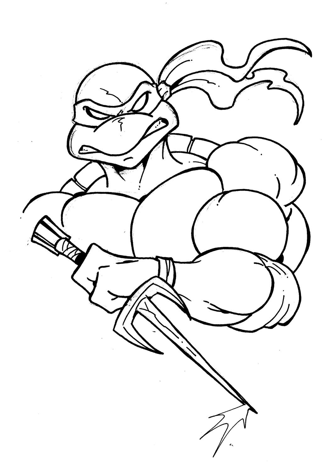 tmnt coloring pages ralph 2012 - photo#10
