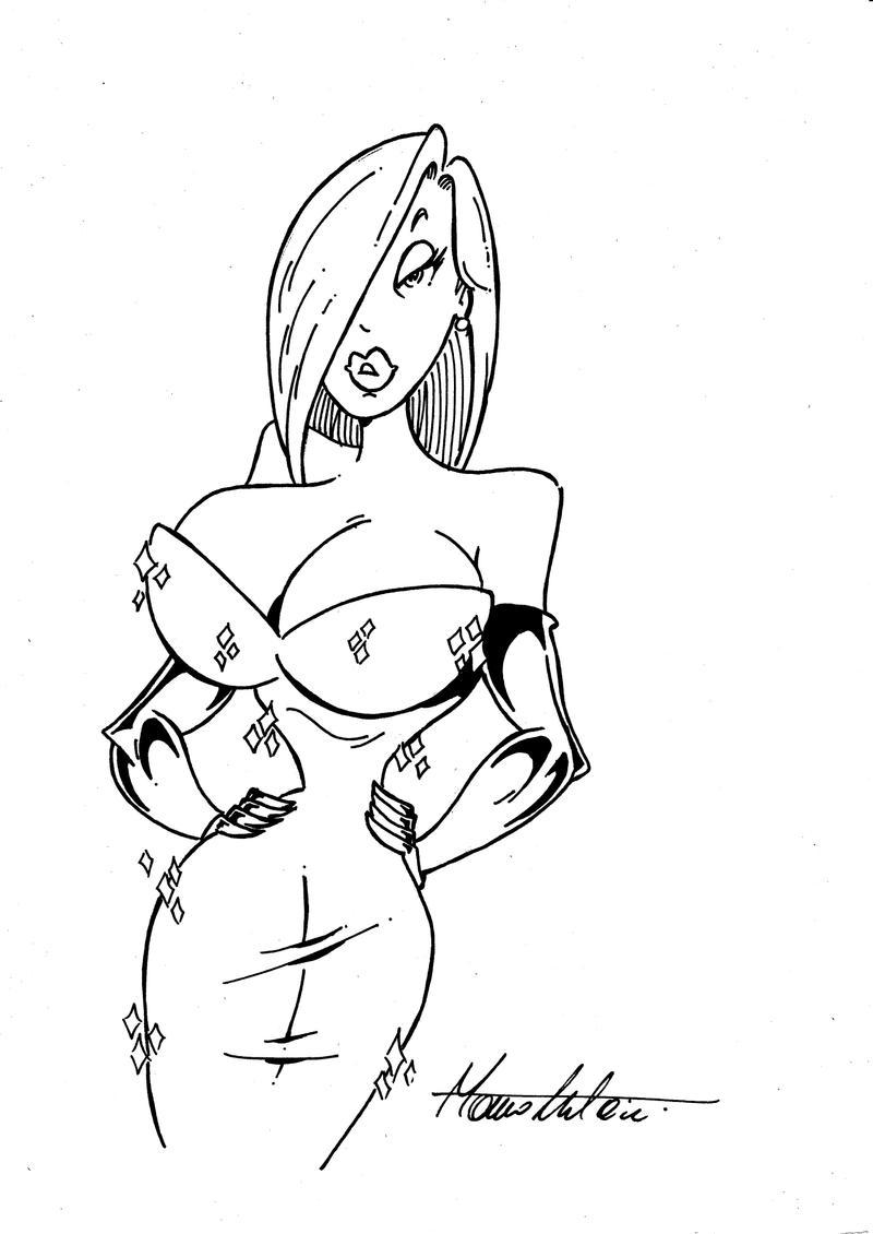 JESSICA RABBIT - Sketch by Manthomex