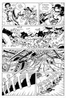 DRAGONESS REVENGE - Commission 11 by Manthomex