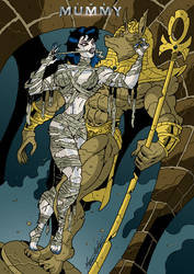 THE MUMMY - BEYOND THE EMBRACE OF ANUBIS (Color)