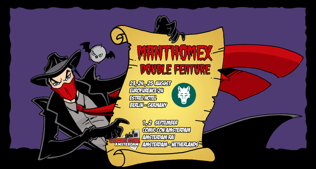 MANTHOMEX DOUBLE FEATURE RETURNS !! by Manthomex