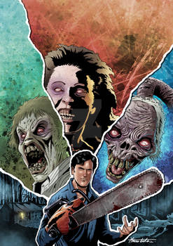 EVIL DEAD 2 - Variant Cover Color