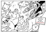 KING OF THE MONSTERS - Two Pages Strip - PREVIEW!!