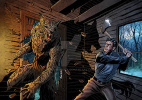 THE HOWLING Vs EVIL DEAD - Color